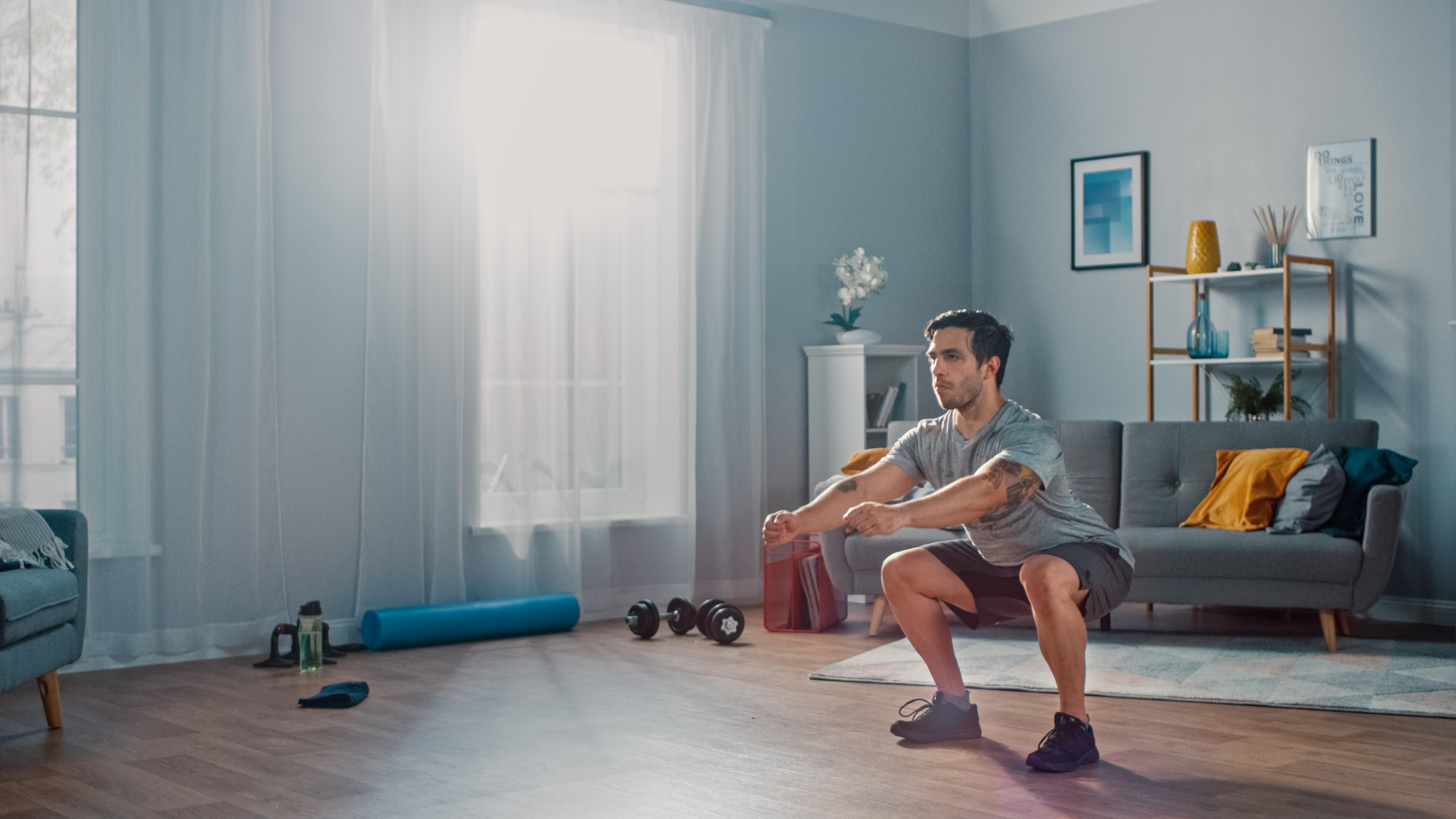 Less injuries through more training